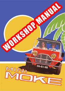 MINI MOKE WORKSHOP MANUAL: 1959-1976