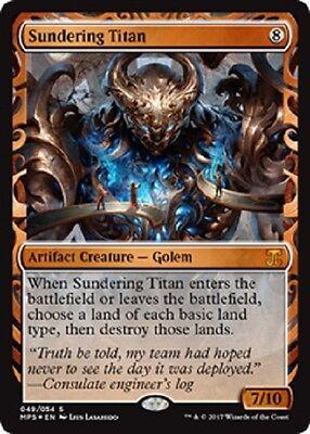 Sundering Titan Invention Foil x1 1x Magic the Gathering MtG.