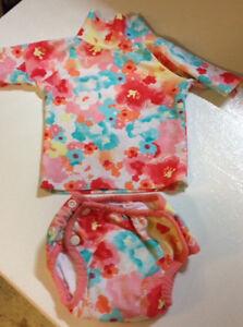 Costume de bain/couche maillot