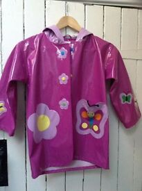 Kidorable Raincoat for Girls (age 6) *NEW*