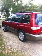 OFFERS/SWAP *62029KM* 2002 limited edition Subaru Forester Wagon Brisbane Region Preview