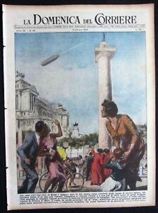 1954-DISCO-VOLANTE-NEL-CIELO-DI-ROMA-emigranti-italiani-Venezuela-nave-Gritti
