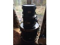 Pearl export drum kit (shells only)