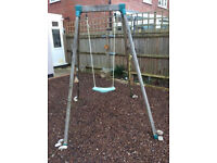 TP Forest Colour Single Swing Frame & Seat, Good Condition