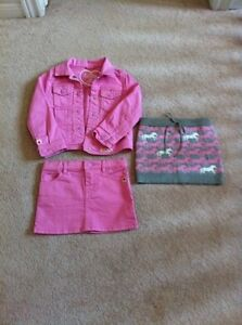 Hatley - Jean Jacket and 2 matching skirts Size 3T