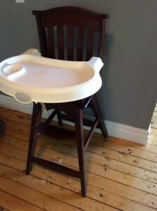 Wooden High Chair (Summer Brand)