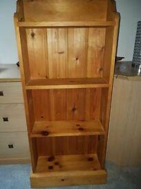 Antique Pine Bookcase