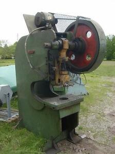 33 ton Alceco deep throat mechanical punch press.