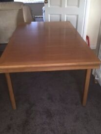 Nathan make Teak extending dining table