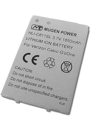 Mugen Power 1850mah Extended Battery For Casio G'zone Com...