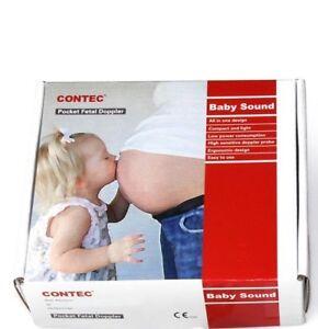 Brand New Contec Pocket Fetal Doppler