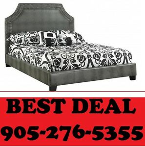 Faux Leather Bed Only $299.00