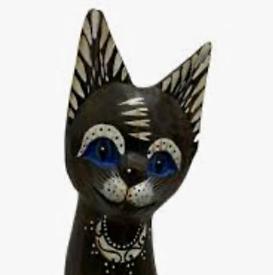 1 x Wooden Cats Ear