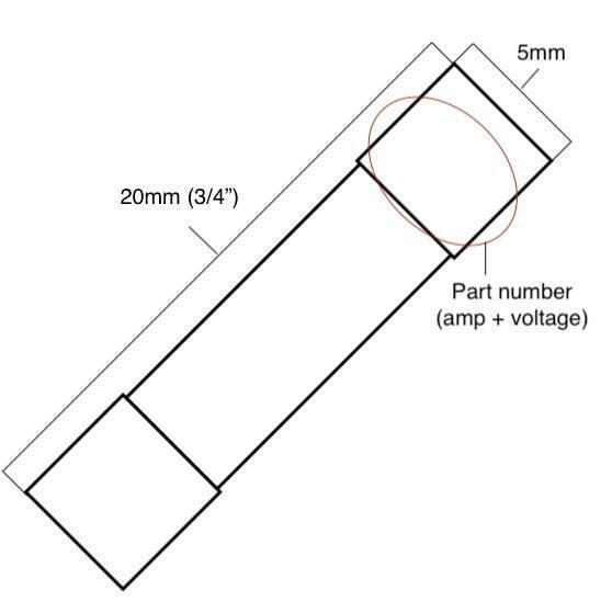 Fast-Acting 10-Amp 250Volt AFE~AGC~3AG~312 Glass Fuses 1-1//4 X 1//4 10A 250V 4//Pk