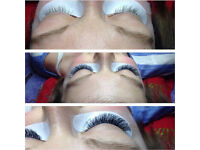 Volume eyelash extensions Cambridge Huntingdon