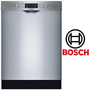 NEW* BOSCH SS BUILT-IN DISHWASHER SGE63E15UC 151176805 STAINLESS STEEL TALL TUB EVOLUTION 300