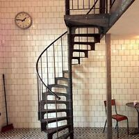 Spiral staircases made to order..