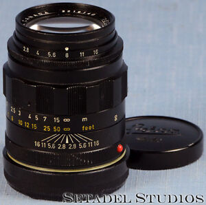 Leica 90mm Tele-Elmarit F2.8 1st V 'Fat' Black M Lens [20074] Kitchener / Waterloo Kitchener Area image 1