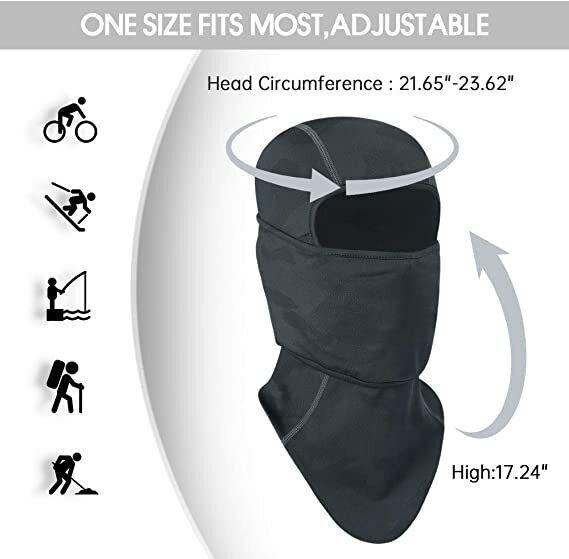 Cycling Motorcycle Hunting Military Tactical Balaclava Hood Full Face Mask Gear Clothing