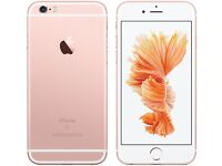 IPHONE 6S - ROSE GOLD - IMMACULATE - UNLOCKED - 64GB - £450