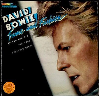 David Bowie Fame And Fashion LP Rare Venezuela Pressing Radio Promo Import
