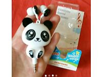 High Quality Earphone Cute Cartoon Panda