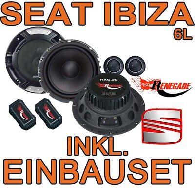Komponenten-system (SEAT IBIZA 6L  200W Renegade RX6.2c - 16cm Komponenten-System LAUTSPRECHER  NEU)