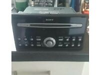 Ford Sony car stereo