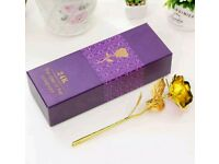 Brand New Gift 24K Gold Rose
