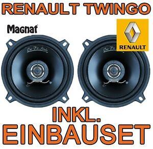 RENAULT TWINGO 1 FACELIFT MAGNAT 130mm KOAX LAUTSPRECHER BOXEN FRONT VORNE TÜR
