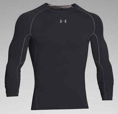 Under Armour Men's HeatGear Armour Long Sleeve Compression Shirt LARGE 1257471