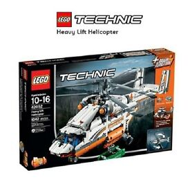 Lego Technic 42052 Heavy Lift Helicopter BRAND NEW FACTORY SEALED BOX