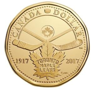 2017 $1 100th Anniversary of The Toronto Maple Leafs