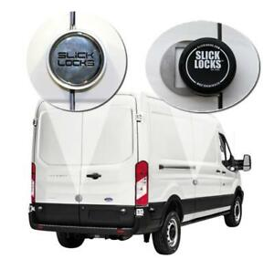 Slick Locks Ford Full Size Transit W/Sliding Door Complete Turn Key Kit - 2015-Present