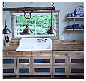 Solid wood kitchen, island,bar or vanity countertops