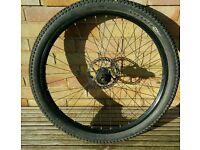Mountain bike 26 inch rear wheel. Disc specific