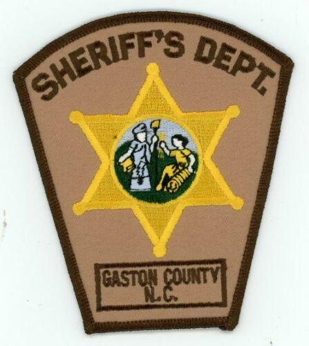 GASTON COUNTY SHERIFF NORTH CAROLINA NC NEW PATCH POLICE