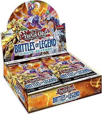 YuGiOh Battles of Legend: Light's Revenge Booster Box [24 Packs]