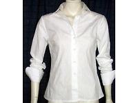 Women's White Designer Shirts