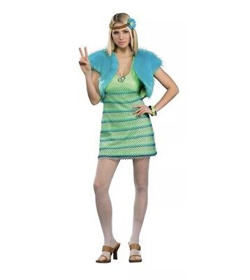 Deluxe Adult Costumes - 60s Girl - Standard (Fits Up To Size 12)