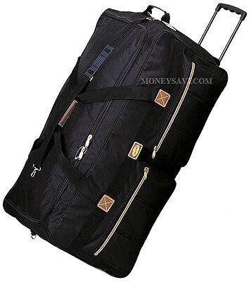 "22""/25""/30""/36"" Polyester Rolling Wheeled Duffel Bag Travel Duffel Bag on Wheel"