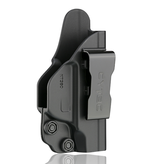Concealed Carry IWB Gun Holster for Ruger LCP 380 Black Polymer Inside Waistband