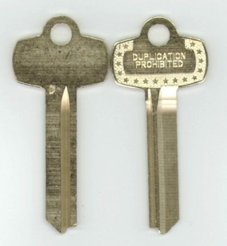 Best D Duplication Prohibited Look a Like Key Blank X2