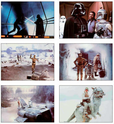Star Wars 6 Card POSTCARD Set