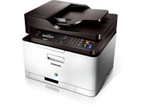Samsung colour laser printer clx3305 wifi ipad iPhone