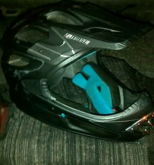 Mountain bike helmet .