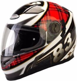 JUST IN VIPER SCOTISH FLAG HELMET RS-V9 VERY NICE WITH PINLOCK SYSTEM £79.99 AT KICKSTART FREE GIFT