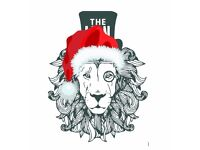 Book your Christmas Party at The LION Bedford Place