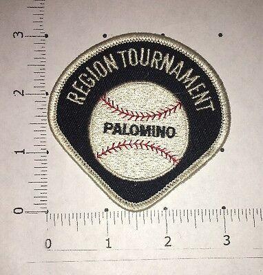 Palomino Baseball Patch - Regional Tournament - Vintage