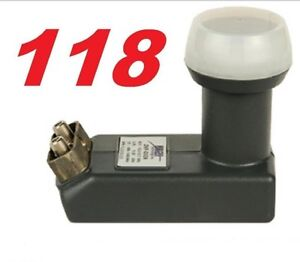 Special LNB for 118.8 and 119